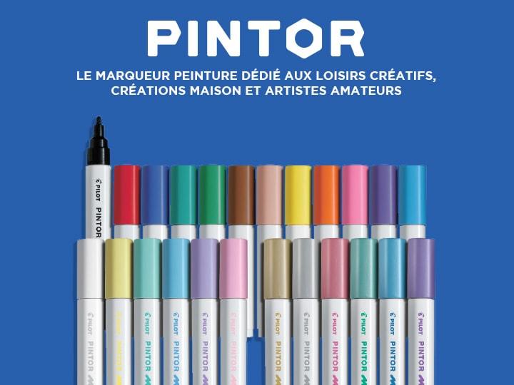 Marqueur peinture artiste, Pilot Pintor