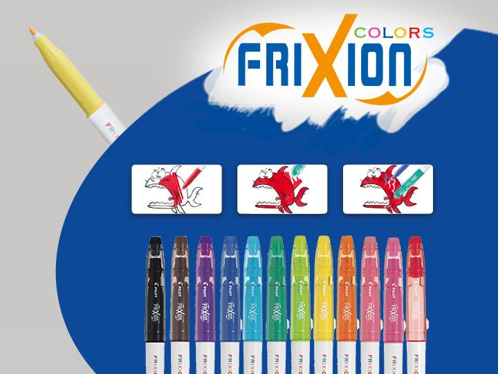 Pilot FriXion Colors feutres effaçables