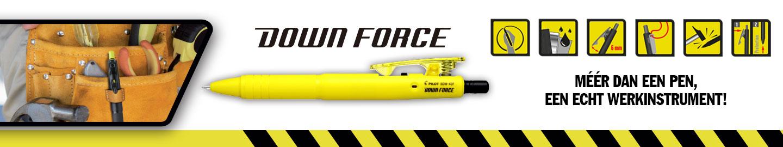 Pilot Down Force, een echt werkinstrument