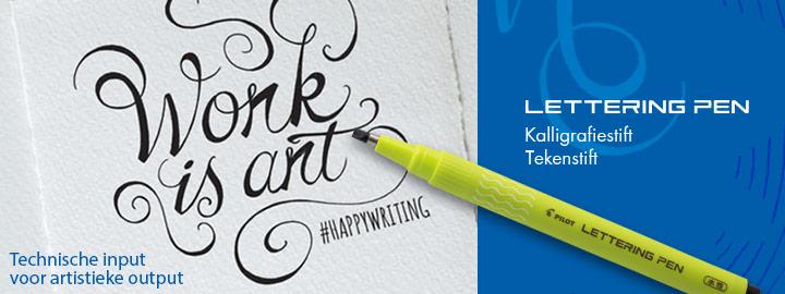 Lettering Pen : kalligrafiestift Pilot