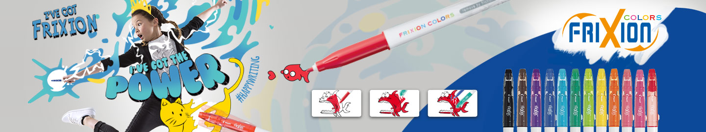 Erasable felt pens FriXion Colors Pilot