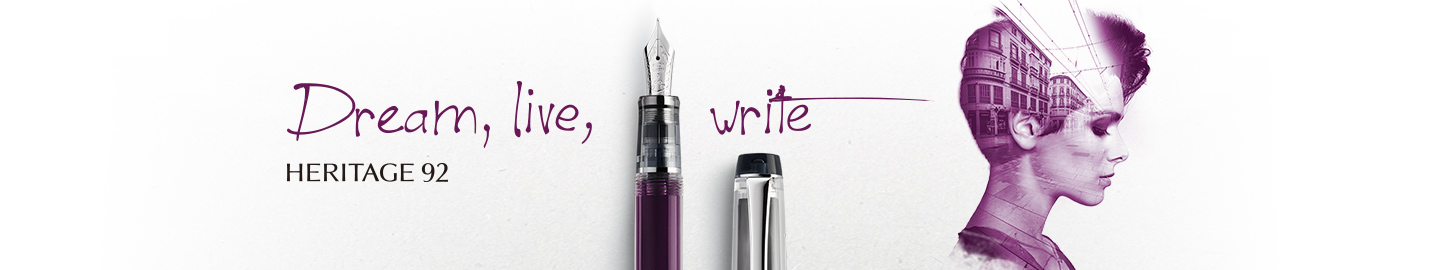 Pilot - Fine writing - Heritage 92 Purple