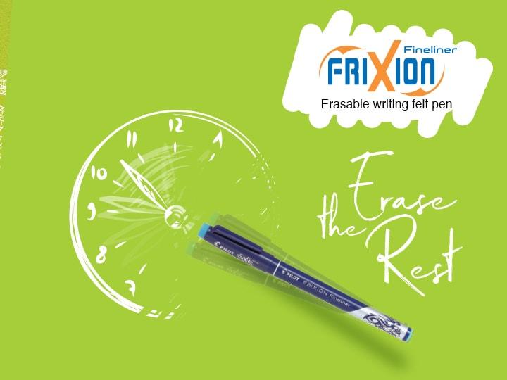 Pilot FriXion Fineliner erasable pens