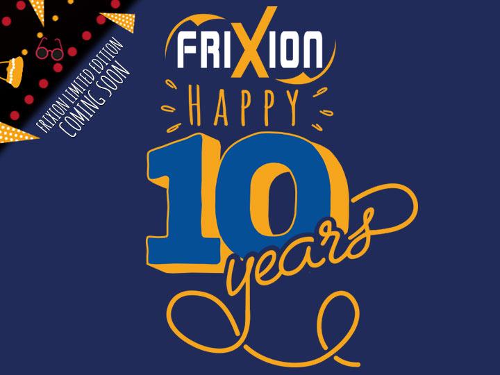 Pilot FriXion 10 Years Happywriting