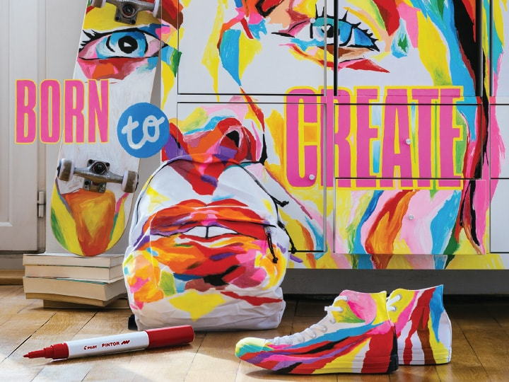 Pilot Pintor, marqueur peinture loisirs créatifs