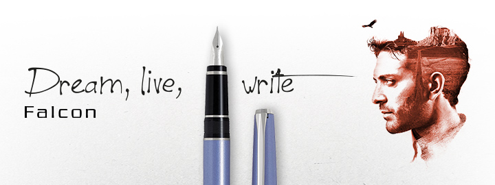 Falcon Blue - Pilot Fine Writing