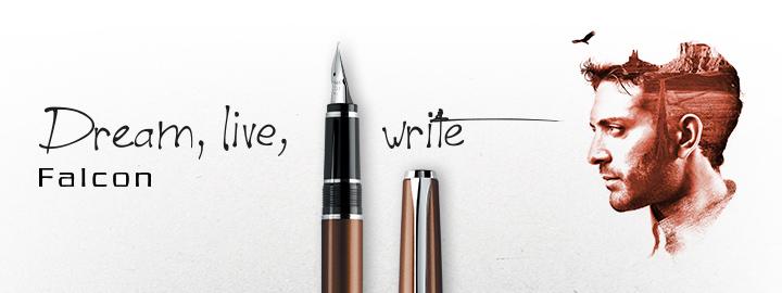 Falcon Brown - Pilot Fine Writing