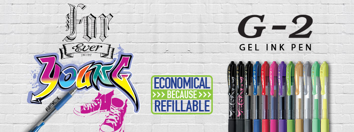 G-2 - Gel ink rollerball by Pilot