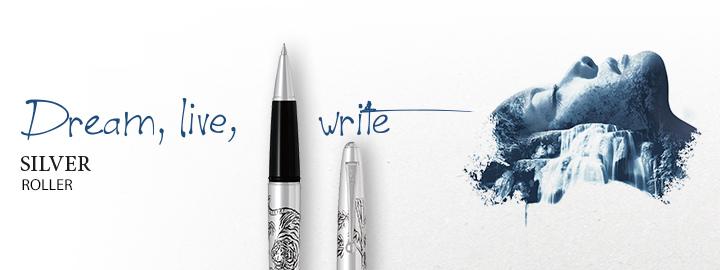 Silver roller - Pilot Fine writing