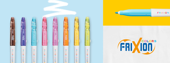 Erasable felt pens FriXion Colors Pilot