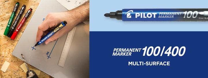 Pilot Permament Marker 100/400