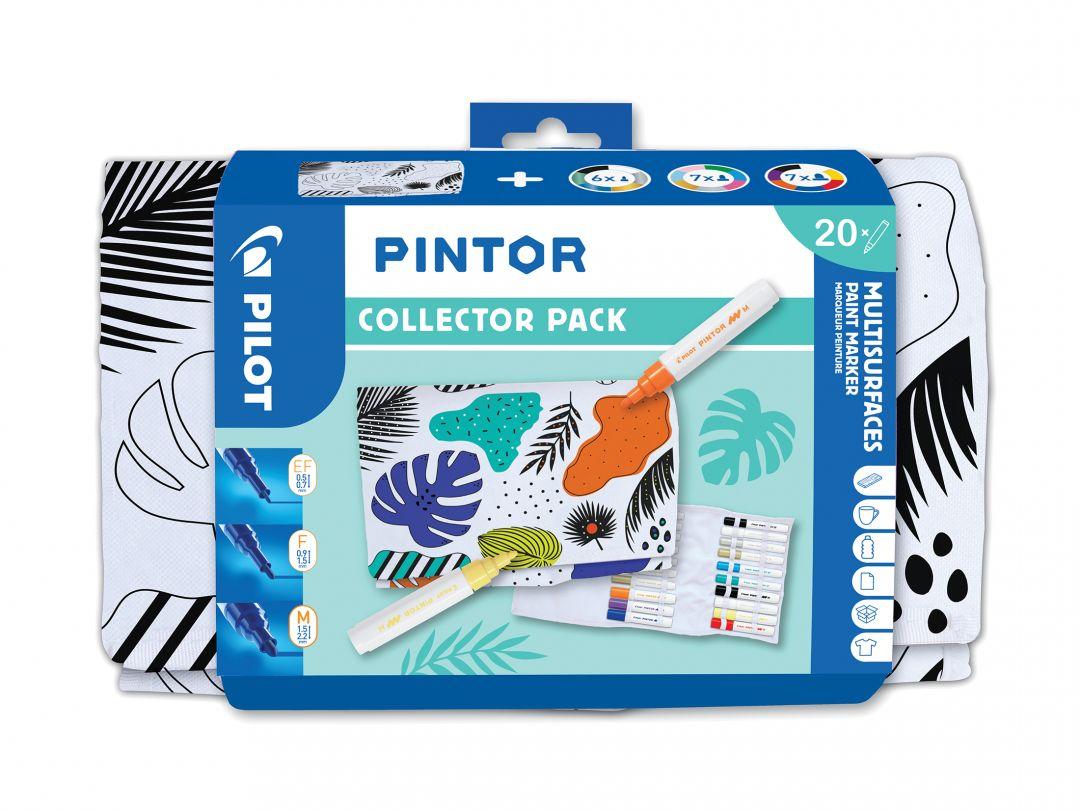 Pilot Pintor - Collector Set - Kleur assortiment - Extra Fijne / Fijne / Medium punt