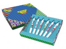 G-2 - Mika limited Edition cadeauverpakking - Kleur assortiment - Medium penpunt