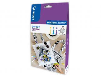 Pilot Pintor - Set DIY Zak - Kleur assortiment - Fijne penpunt