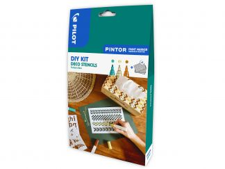 Pilot Pintor - Set DIY Deco - Kleur assortiment - Medium penpunt