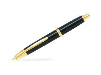 Capless Gold - Zwart - Fijne penpunt - In a Gift Box