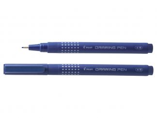 Drawing Pen 03 - Viltstift - Blauw - Medium penpunt