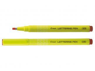 Lettering Pen 30 - Viltstift - Rood - Brede penpunt