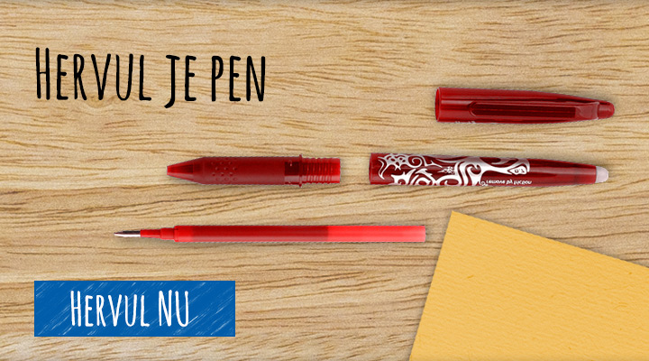 Hervul je pen